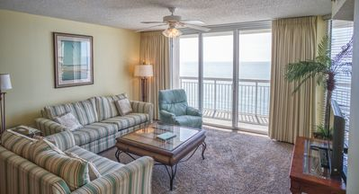 Photo for Crescent Shores Oceanfront Unit 1210! Stunning Condo. Book your get away today!