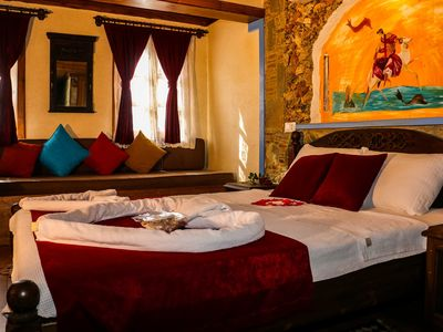 Photo for Luxurious Traditional Stone Villa - Hera Suite