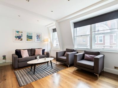 Photo for In the Heart of Soho - Piccadilly Circus Area - Lovely and Central 2BR 2BA