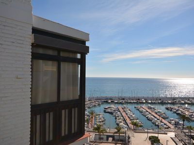 Photo for Penthouse facing the sea in the center of Marbella.