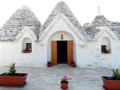 Photo for The Mirto trullo, beautiful villa with private pool near the sea
