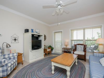 Photo for 404 North Shore Place-Bright and airy 4th Floor Villa-100 yards to the beach.