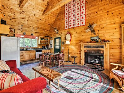Rustic East Dover Home w/ Deck - Near Mount Snow!
