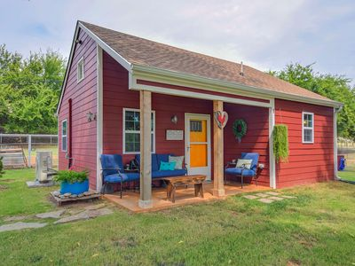 Photo for Private Waterfront Farm Cottage / Scenic 15 Acres in Norman City Limits!