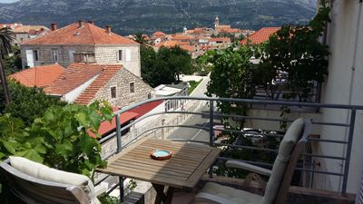 Photo for Blue room - Korcula town with the sea view
