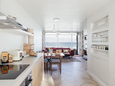 Photo for *New Property* Architect Designed Apartment on Porthmeor Beach with Sea Views
