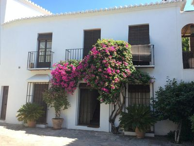 Photo for Delightful Town house ,close to beach between Marbella & Puerto Banus,free wifi