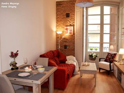 Photo for Niño Guevara apartment in Centro with WiFi, air conditioning, balcony & lift.