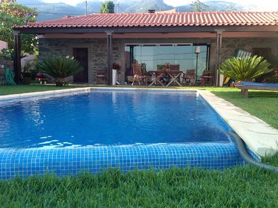 Photo for Casa do Poço II - Villa with pool and sea view