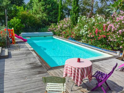 Photo for Contemporary Villa with pool VALBONNE