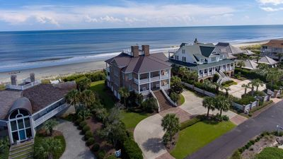 Photo for Grand Oceanfront Home with Elevator to Rooftop Deck for Spectacular Views