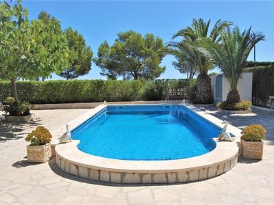 Photo for Beautiful villa with private pool / 8 people in Ametlla de Mar. Beach at 800 m.