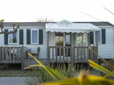 Photo for Camping Ensoya *** - Cozy Mobil Home 3 Rooms 6 People