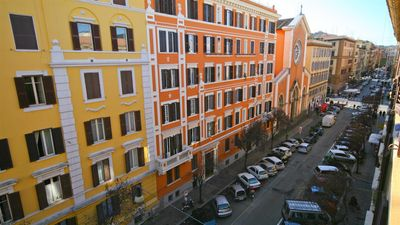 Photo for Red & White 1126 apartment in Prati with air conditioning.