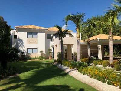 Photo for Exquisitely decorated villa in Tortuga Bay, Punta Cana.