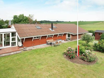 Photo for Modern Holiday Home in Rønde Jutland With Terrace