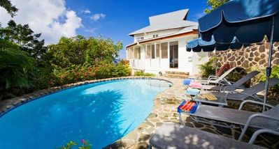 Photo for Hummingbird Villa - Ideal for Couples and Families, Beautiful Pool and Beach