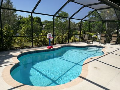 Photo for Beautiful 3BR Vacation Heated Pool Home, Bradenton, 7miles to Anna Maria Beaches