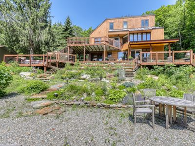 Photo for Lovely retreat w/ski & mountain views, private hot tub, pool table, & more!