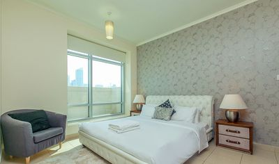 Photo for 1BR Apartment Vacation Rental in Downtown Dubai, Dubai