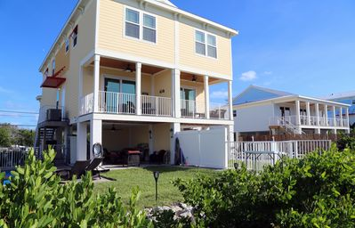 Photo for Waterfront w/DOCK - 4BR/3BA - SOMBRERO BEACH, PRIVATE POOL w/HEATER/CHILLER!