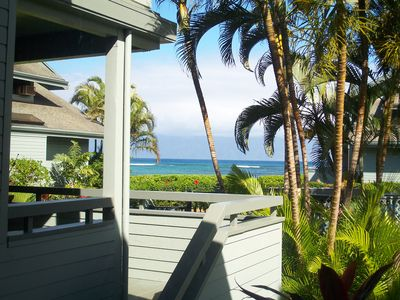 Master Bedroom view of Molokai