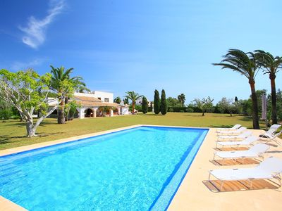 Photo for This 6-bedroom villa for up to 12 guests is located in Javea and has a private swimming pool and Wi-