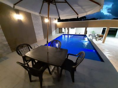 Photo for House in Matinhos with pool for 8 people