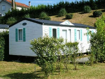 Photo for Camping Cigaline *** - Mobile home 4 Rooms 6 People