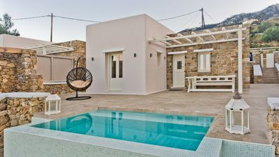 Photo for BRAND NEW Villa with private pool, mountain & sea views!