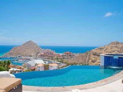 Photo for Villa Leonetti – Panoramic Views of Cabo San Lucas Bay from this Spacious Villa