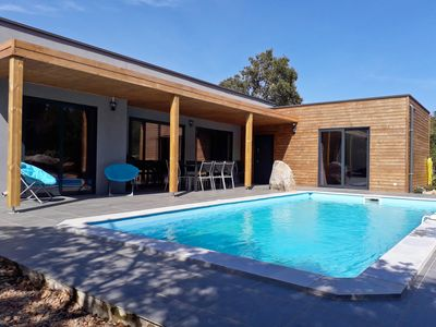 Photo for NEW VILLA WITH SWIMMING POOL - 4 CH - 10 PERS (1km from the sea)
