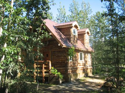 Photo for Classic Alaskan accommodations in comfortable, private, log cabins