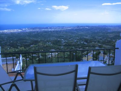 Photo for Beautiful Apartment with Spectacular Views in Mijas Village