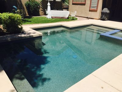 Photo for Heated pool house, one floor, gated community. Ocotillo Golf.