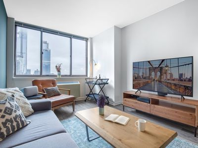 Photo for Comfy 1BR w/ Gym + Doorman near Times Square by Blueground