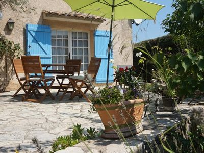 Photo for Charming studio 50 meters from the beach, near St Tropez