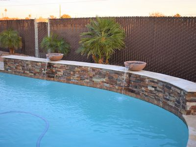 Photo for Clean & Contemporary Pool Home- WIFI, Air Hockey, Pool Table, Fire Pit, Cornhole