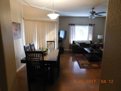 Photo for Gated Community W/3 Bdrms, Pool, Hot Tub, Gym, Close to Sports & Entertainment!
