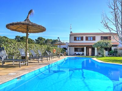 Photo for Villa Ca Na Capitana, beautiful family villa for rent with pool and garden