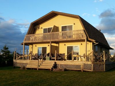 Photo for Sandcastles Beach House - Duneside: Stunning View on PEI's Best Beach!