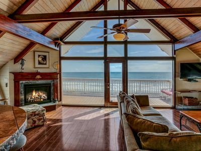 Photo for Discover this elite oceanfront property for 10,  events allowed