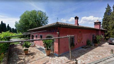 Photo for Large farmhouse in Montefalcone masterfully rebuilt in Tuscan style.