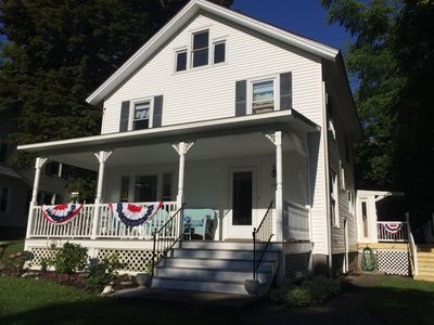 Photo for Sleeps 14, Lakeview Across from Historic Sodus Point Lighthouse.
