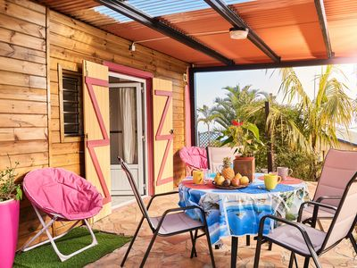 Photo for Le Bambou, Creole cottage in the quiet and fresh in the island of Reunion