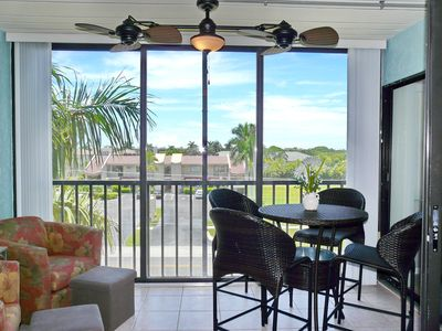 Photo for Peaceful condo w/ spectacular sunsets in waterfront community