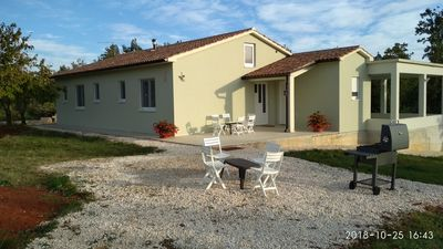 Photo for Villa 200m away from first neighbor. On peaceful hill surrounding with forest.