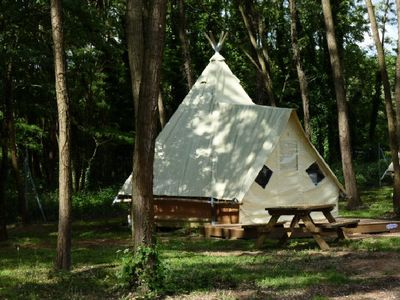 Photo for Camping du Lac **** - Tipi 3 Rooms 4 People