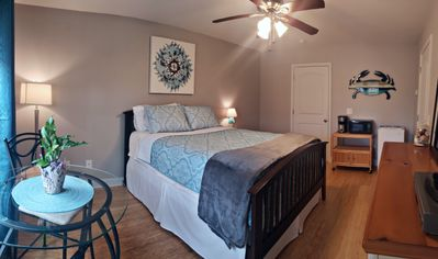 Photo for RELAXING GET AWAY! LOVELY HOME 2 BLOCKS FROM BEACH, PET FRIENDLY
