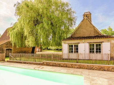 Photo for Restored farmhouse with private pool.